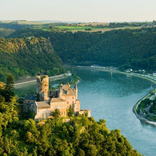 Burg Katz am Rhein