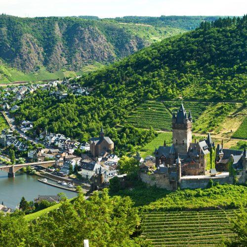 Burg Cochem an der Mosel
