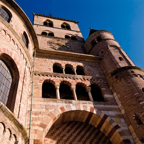 Teilansicht des Doms in Trier